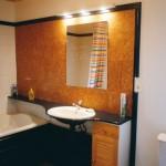 salle de bain de la chambre Goméra à la maison des îles