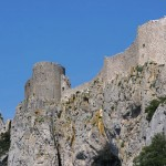 Peyrepertus, château cathare, photo Pierre Parent